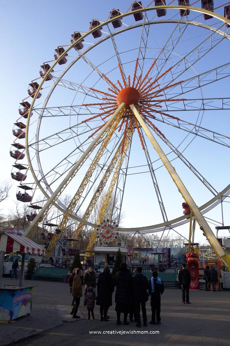 Odessa Ukraine Luna Park