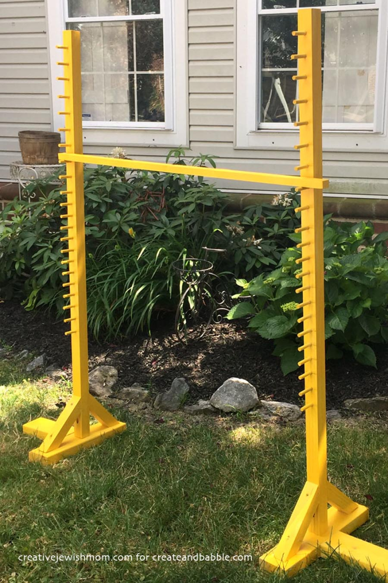 DIY backyard limbo station