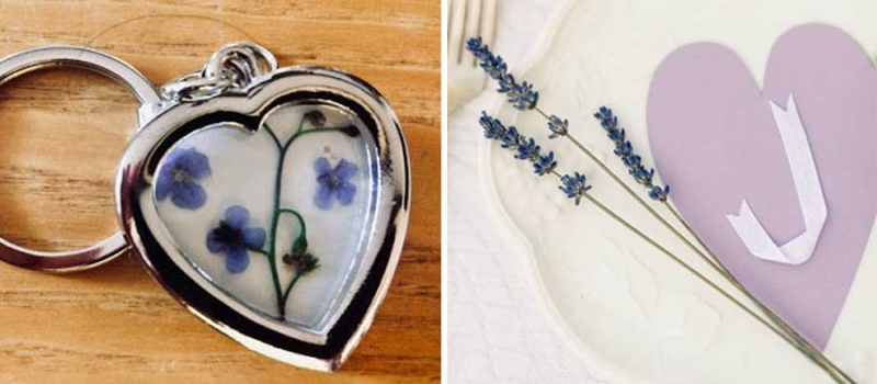 Ribbon-initial-on-heart-DIY pressed-flowers-in-heart