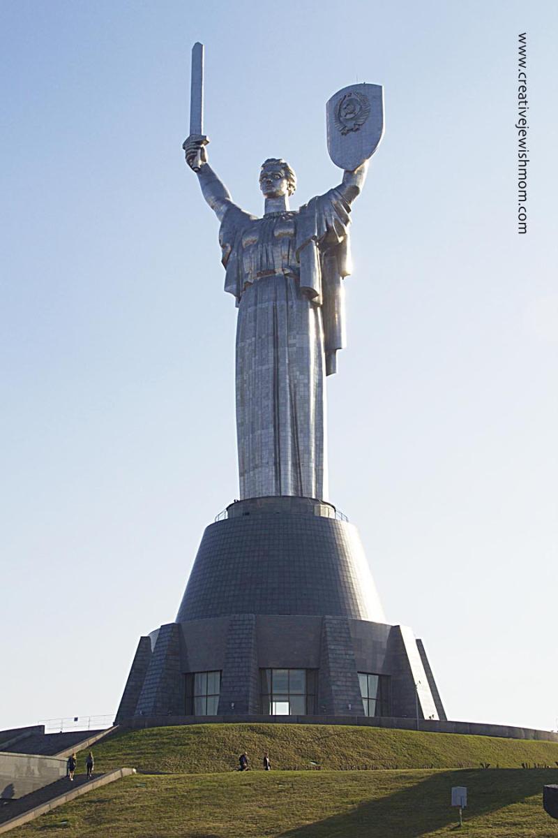 Ukraine Motherland Statue