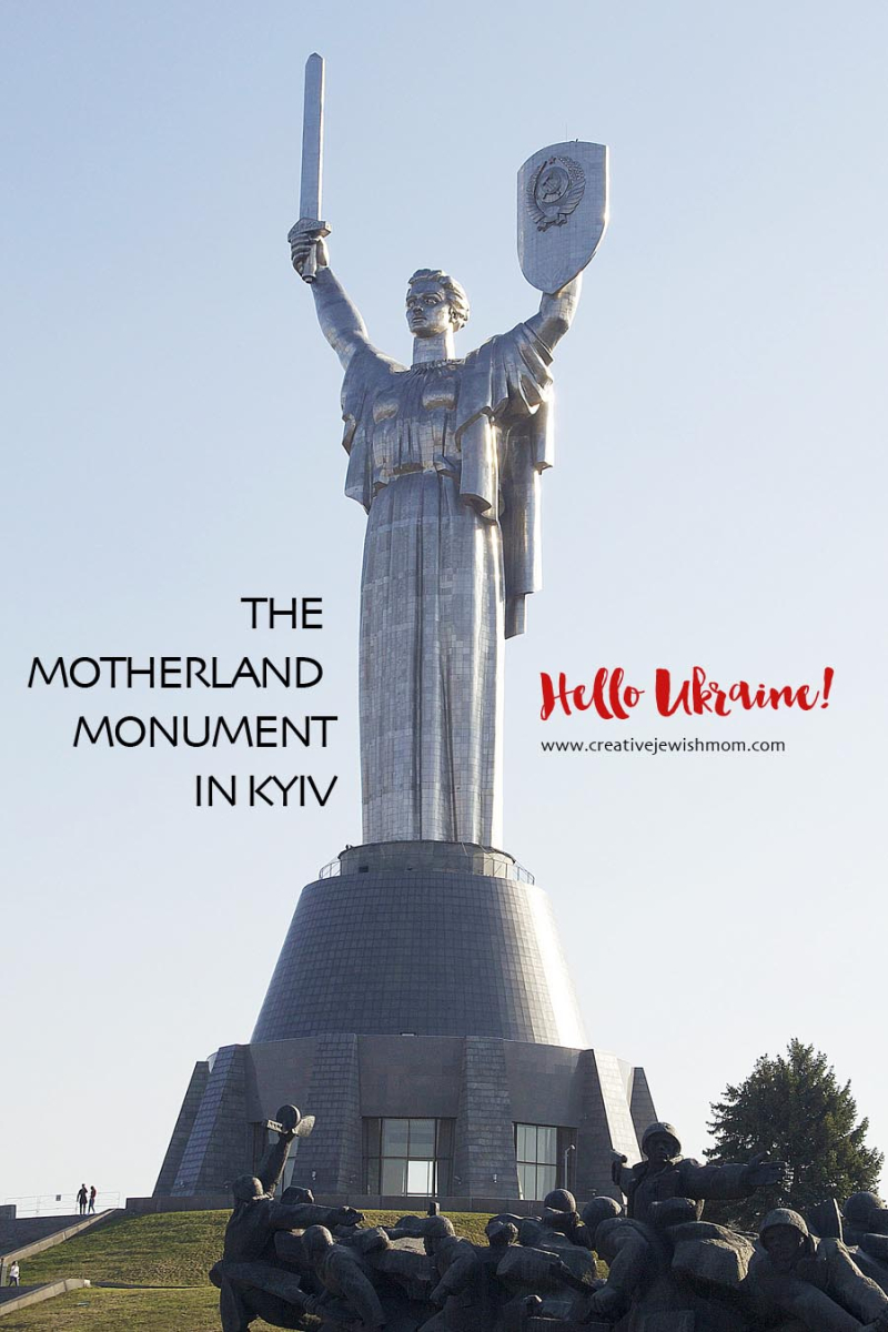 Motherland Monument Kyiv War Museum