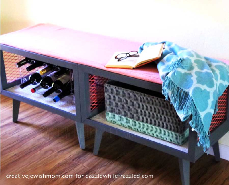 DIY-Storage-Bench-From-2-Old-Nightstands