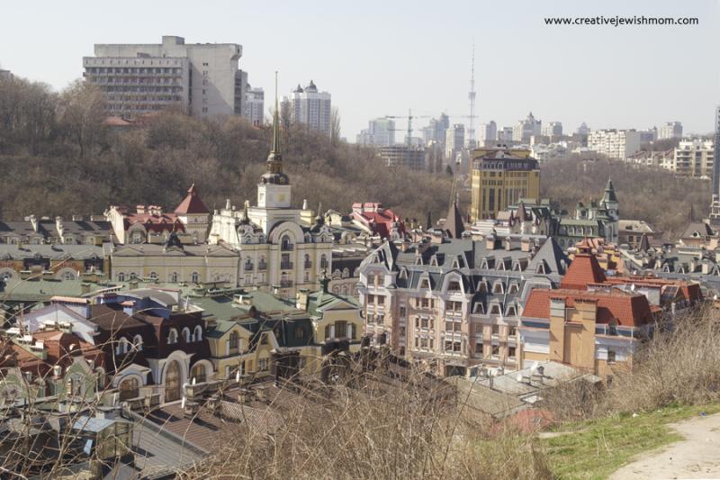 Kiev Rooftops Andrew's Descent View