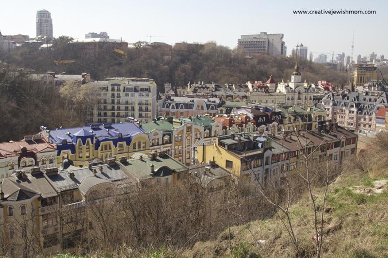 Kiev Rooftops From Andrew's Descent