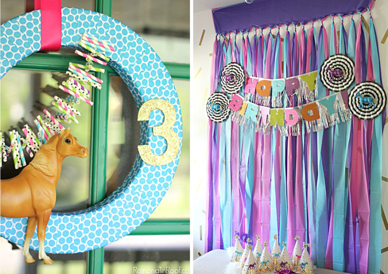 Horse-birthday-party-horse-wreath