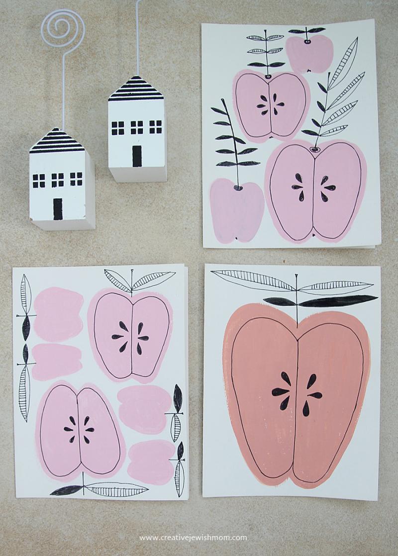 Rosh Hashana Card Craft