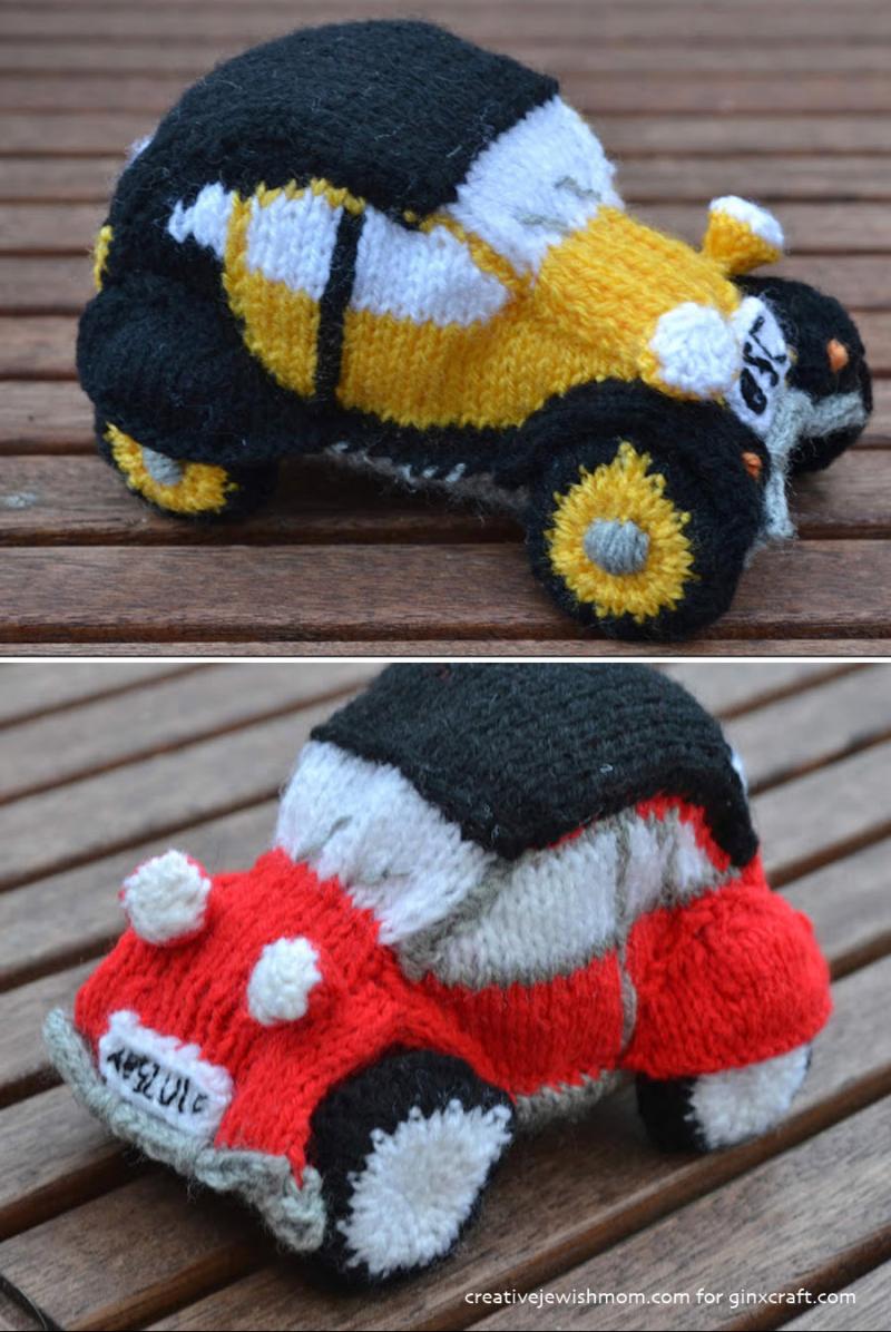 Knit-vintage-car