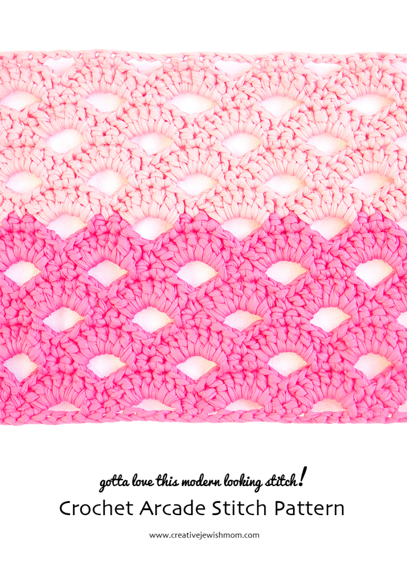 Crochet Arcade Stitch Pattern