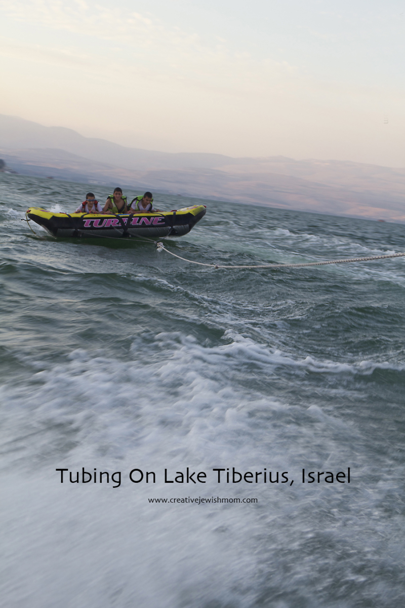 Tubing In Northern Israel Lake Tiberius
