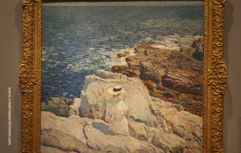 Childe Hassam The South Ledges