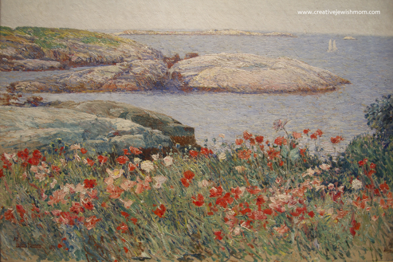 Childe Hassam Poppies Isles of Shoals 1891