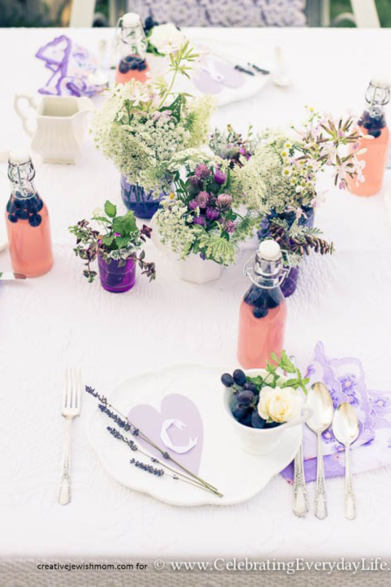 LavenderSummerTable