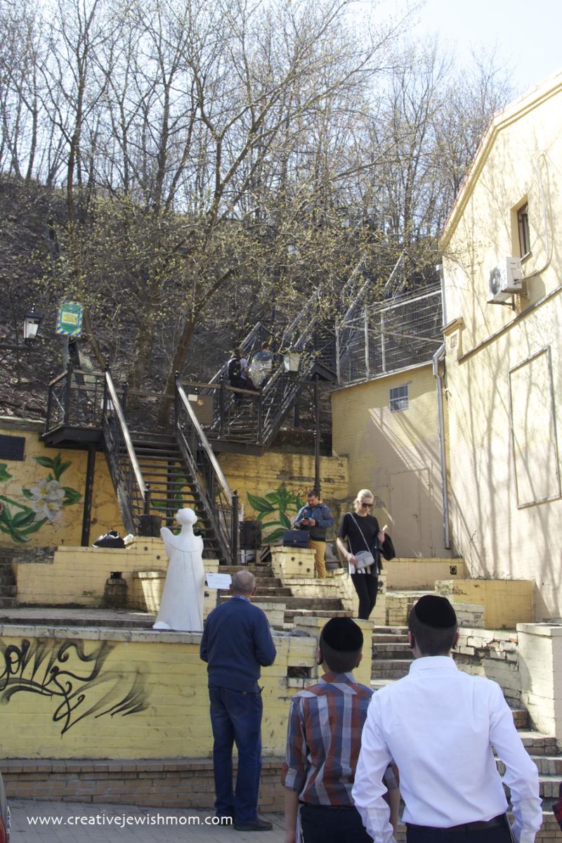 Kiev Iron Steps On Andrew's Descent