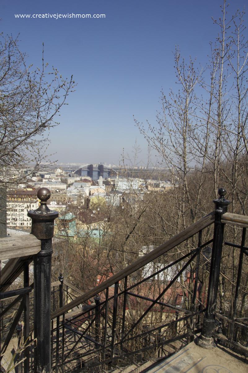Kiev Andrew's Descent Stair Railing