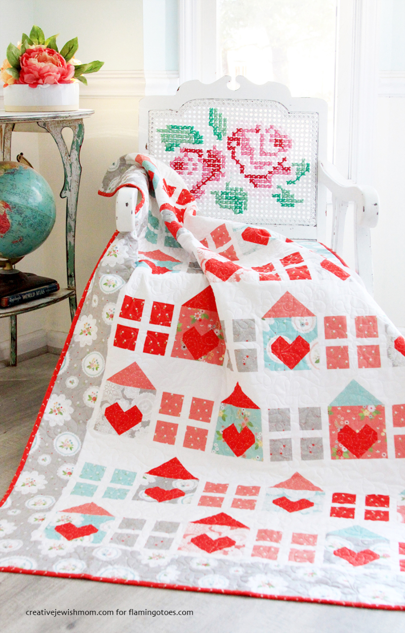 Heart-and-Home-Quilt-red-aqua