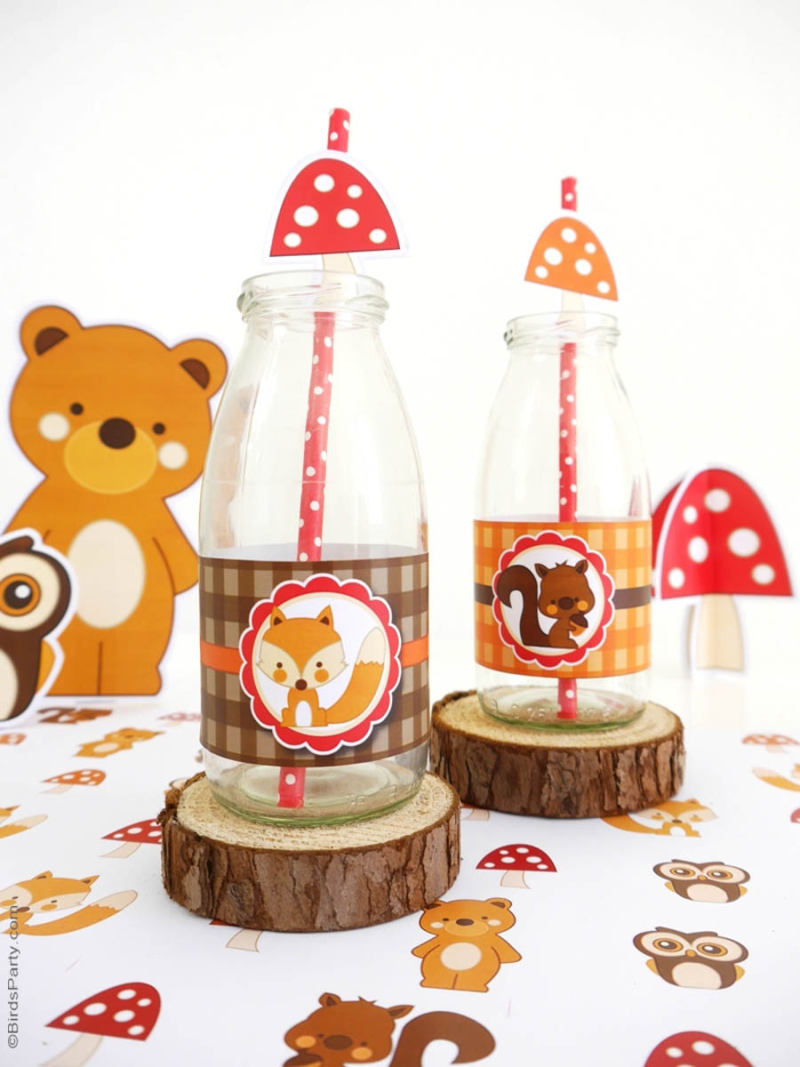 Woodland-birthday-party-tablescape