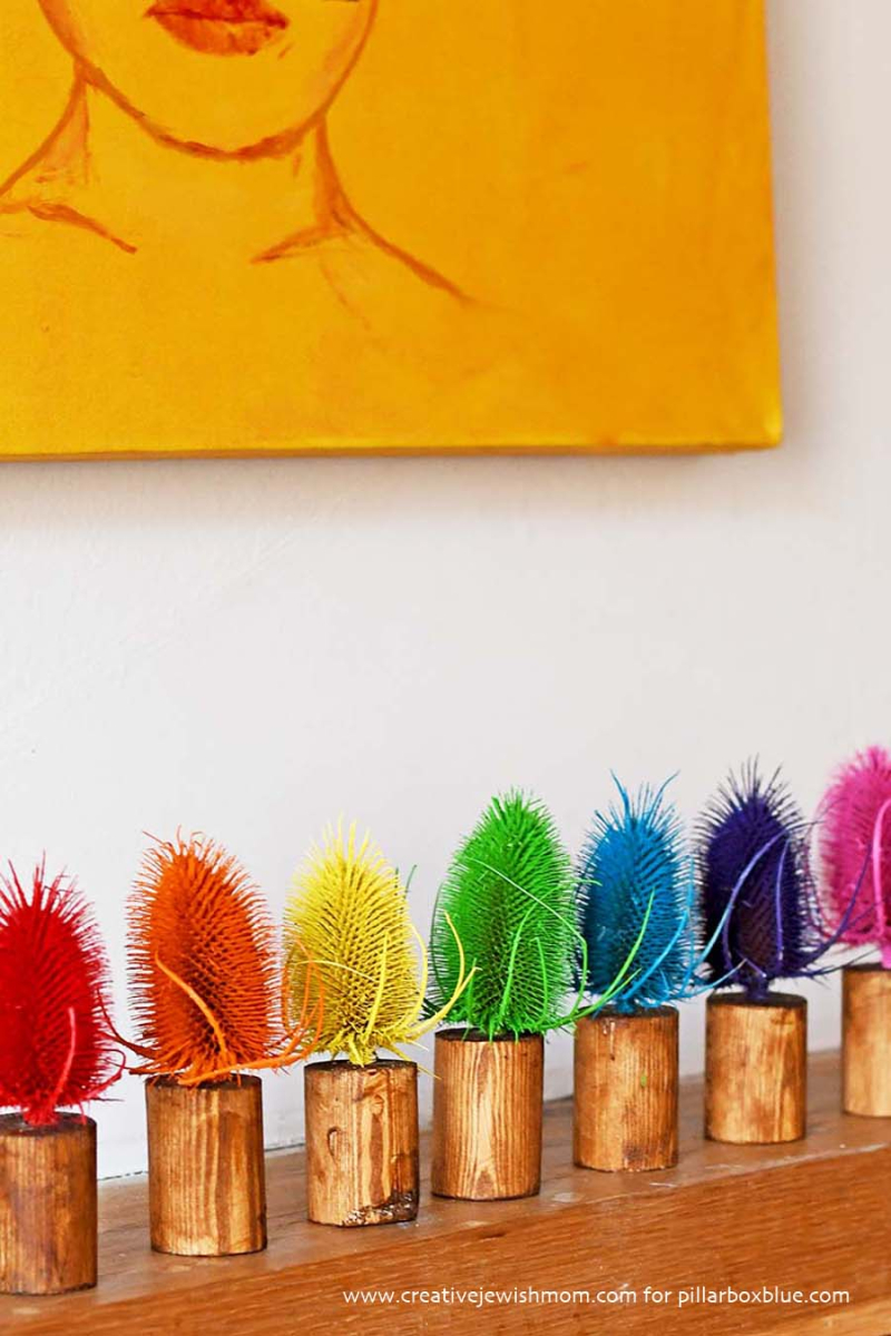 Thistles-craft-rainbow-colors
