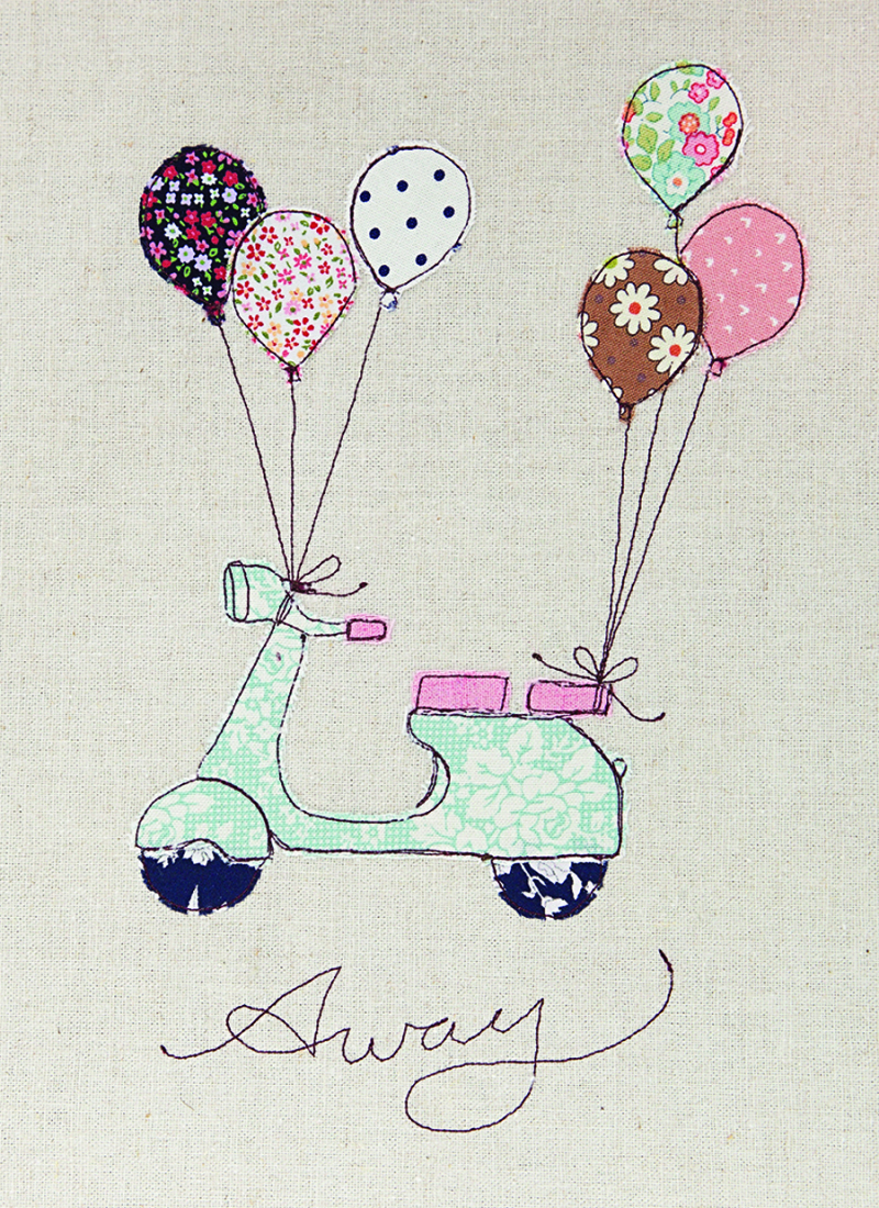 Scooter-machine-embroidery-applique