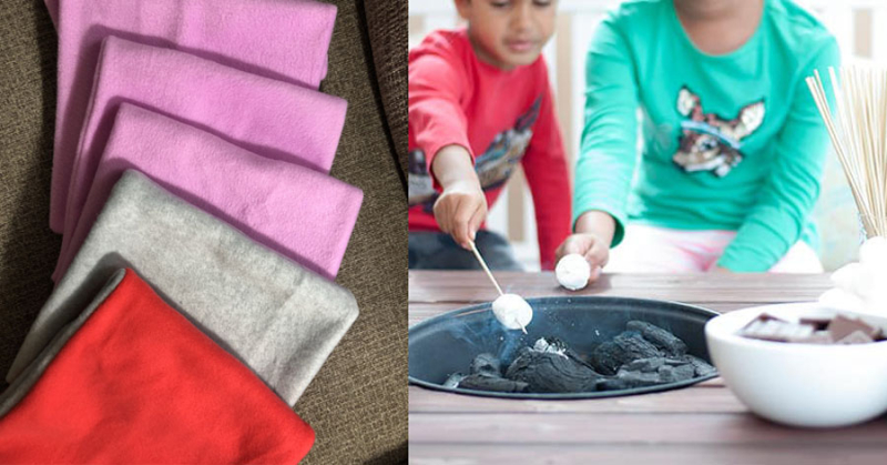 DIY-patio-table-with-fire-pit kid's-fleece-cowl-for-charity