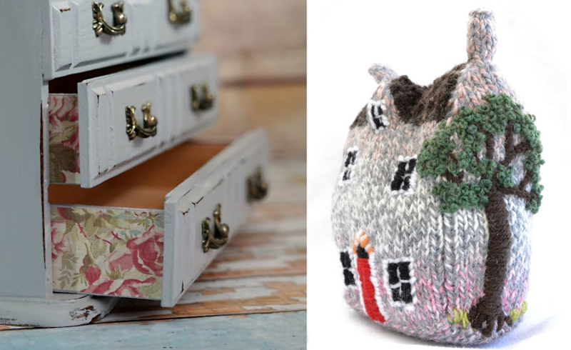 Knitted-house jewelry-box-upcycle
