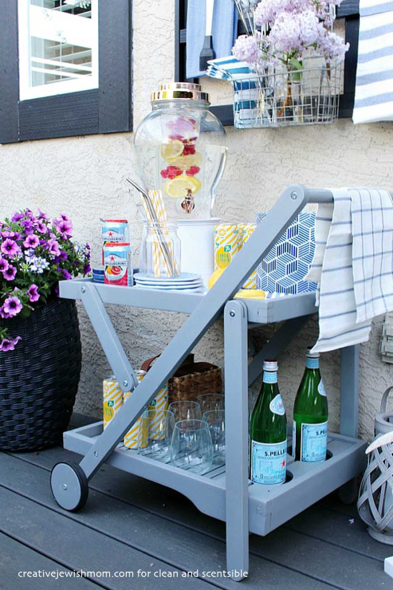 Outdoor-Beverage-Cart