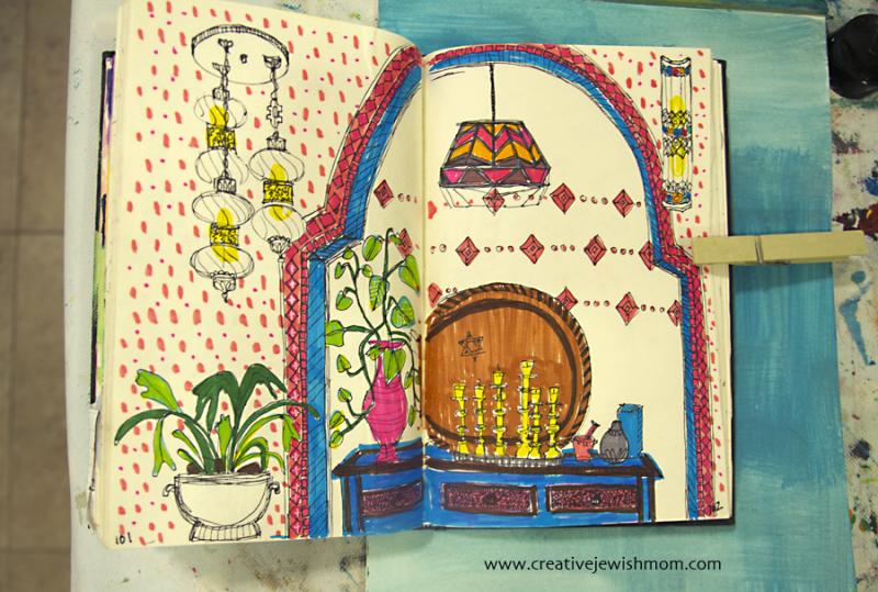Sketchbook Moroccan Nook