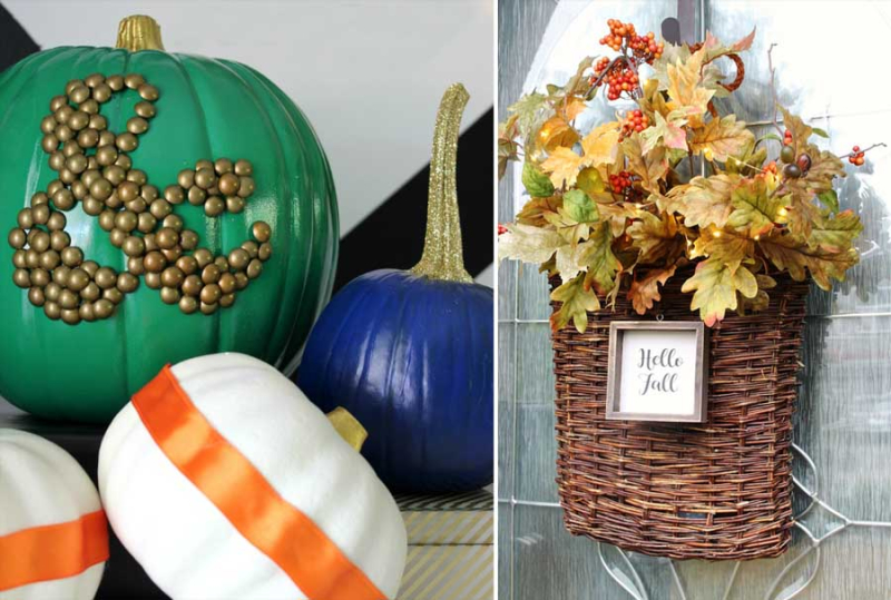 Ampersand-tacks-pumpkins DIY-Fall-Basket-Wreath-with-Lights