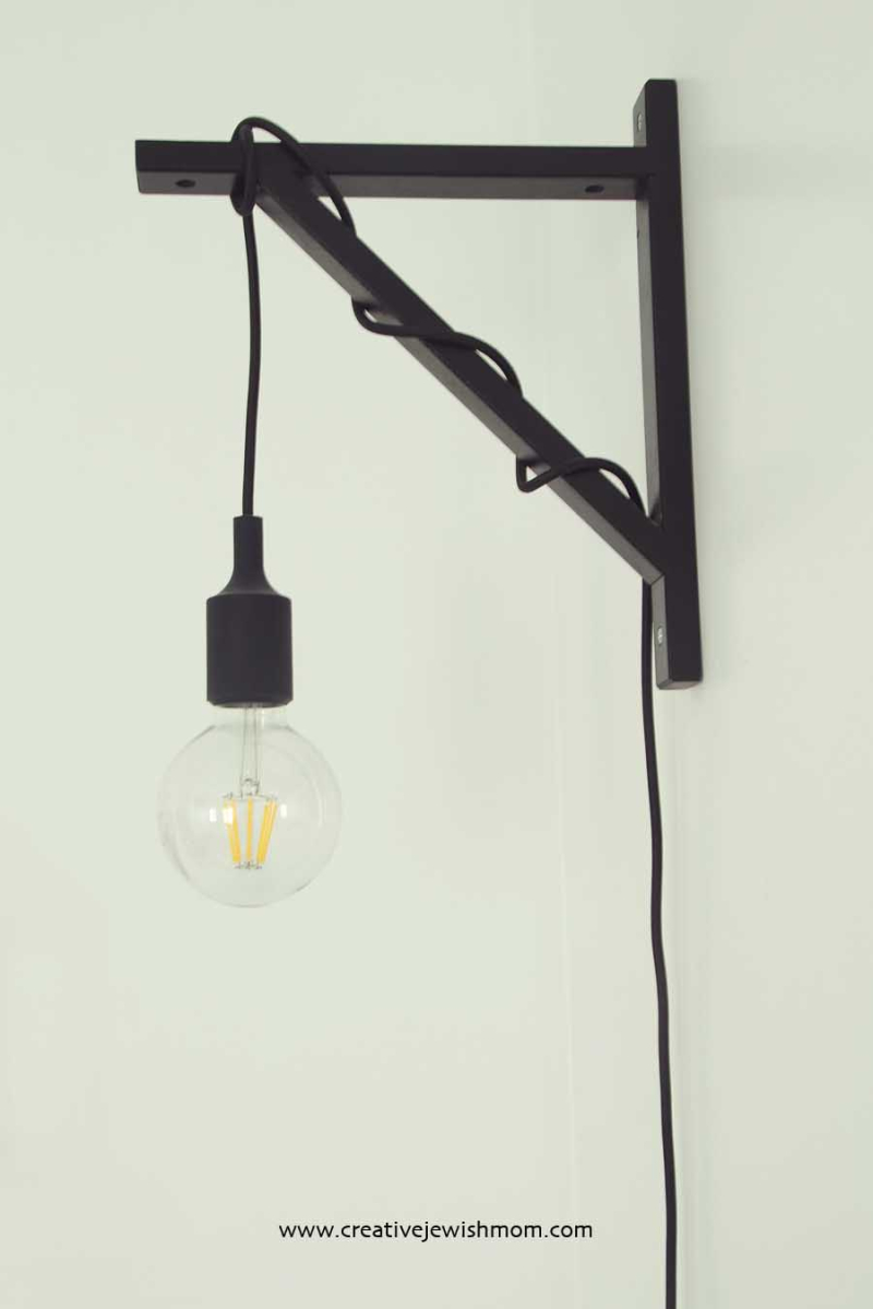Ikea Hack Ekby Valter Wall Sconce