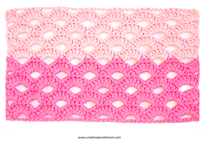 Crochet Arcade Stitch Pattern