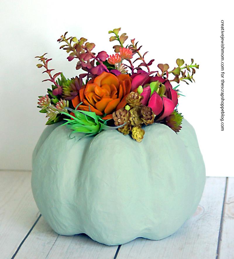 Succulent-pumpkin