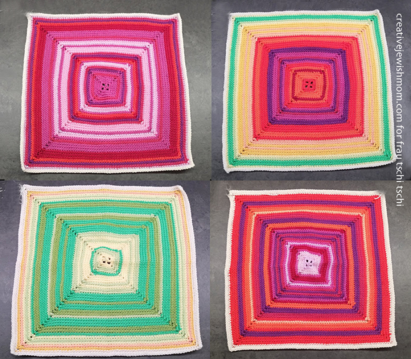Crocheted-stripes- squares