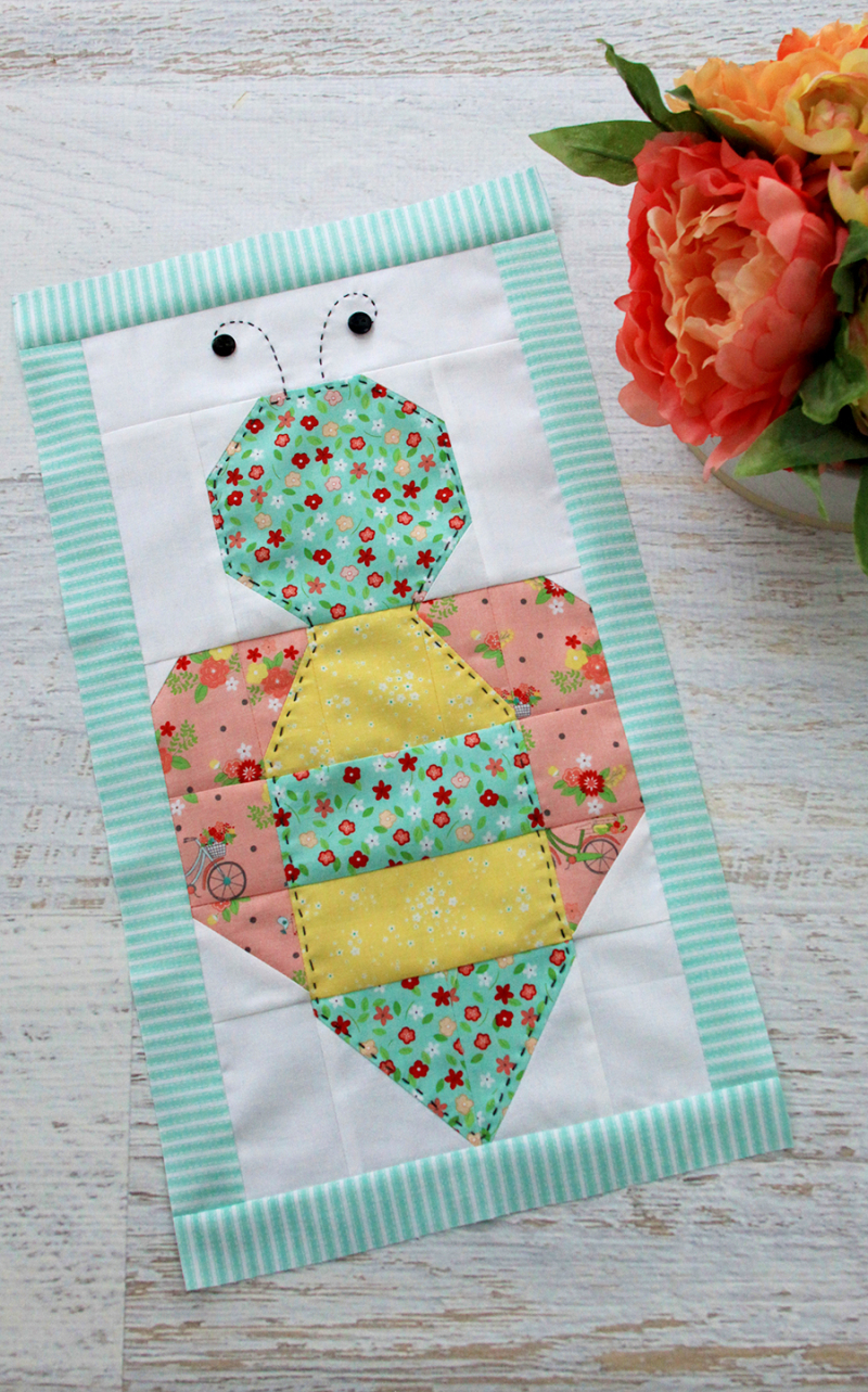 Cute-Bee-Quilt-Block