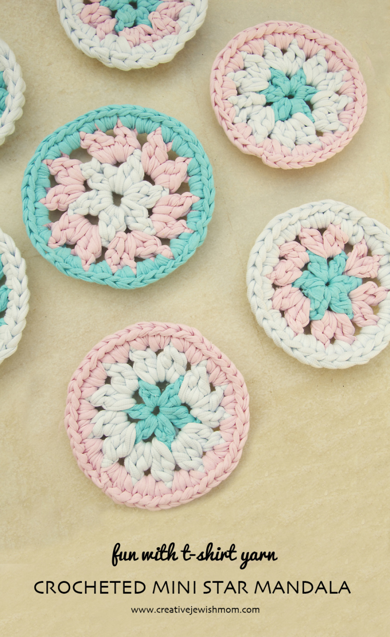 Crochet-mini-mandala-star-center