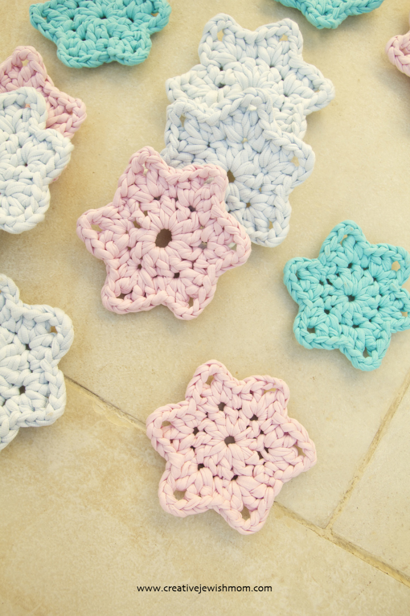 Crochet-simple-6-point-star