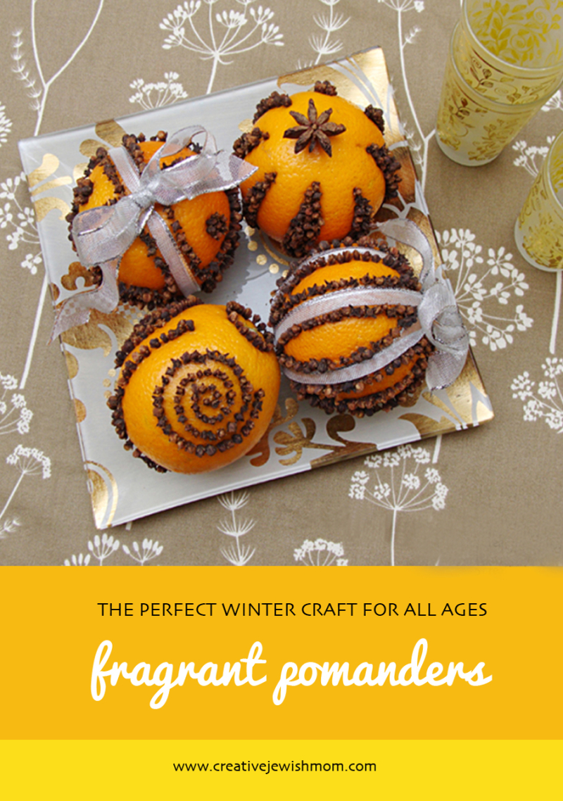 Orange-pomanders-winter-craft