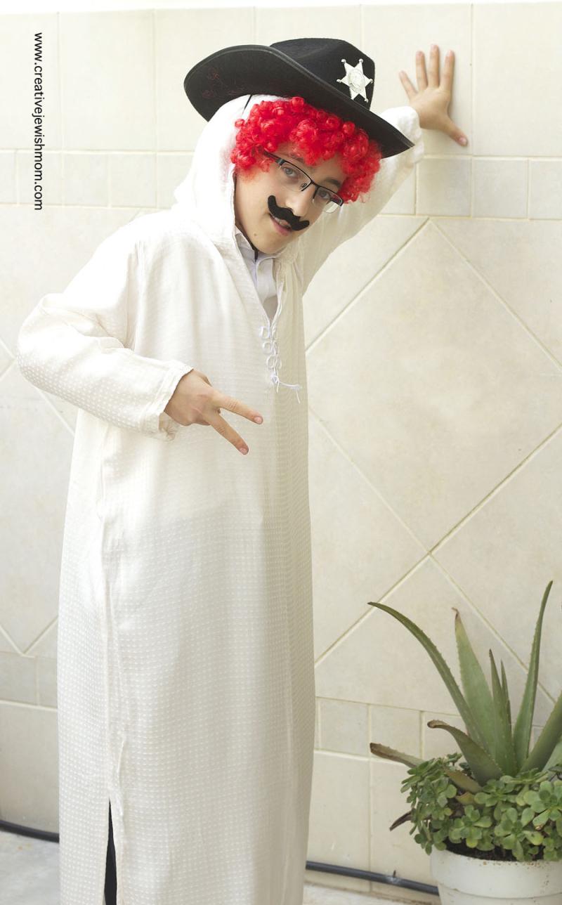 Purim Costume For Big Boys