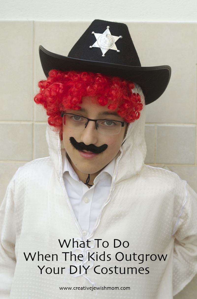 Purim Costume For Big Boys
