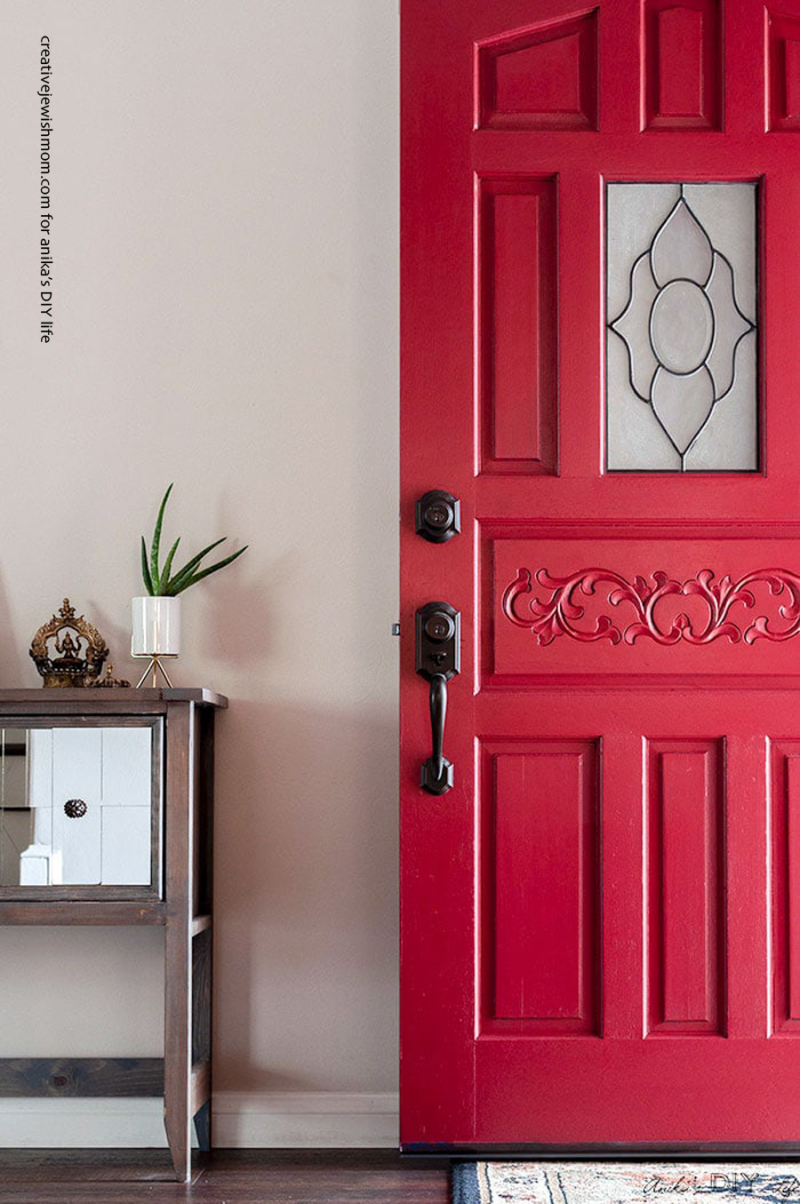 Front-door-makeover-with-paint