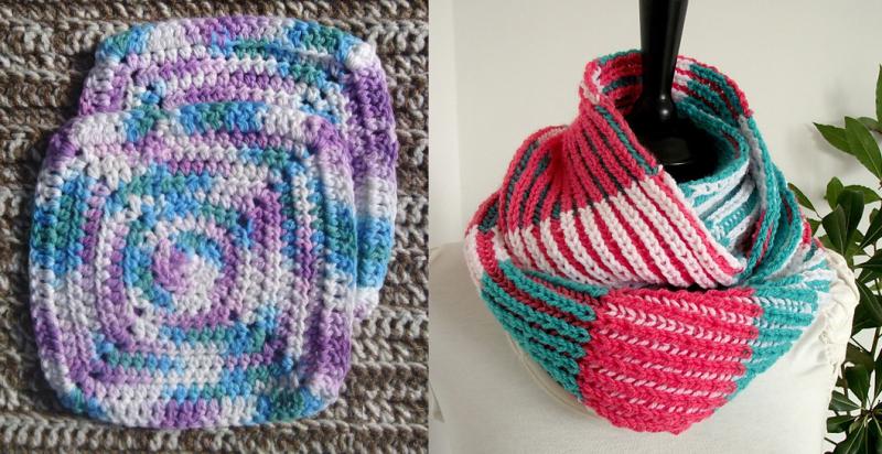 Crocheted-washcloth-square