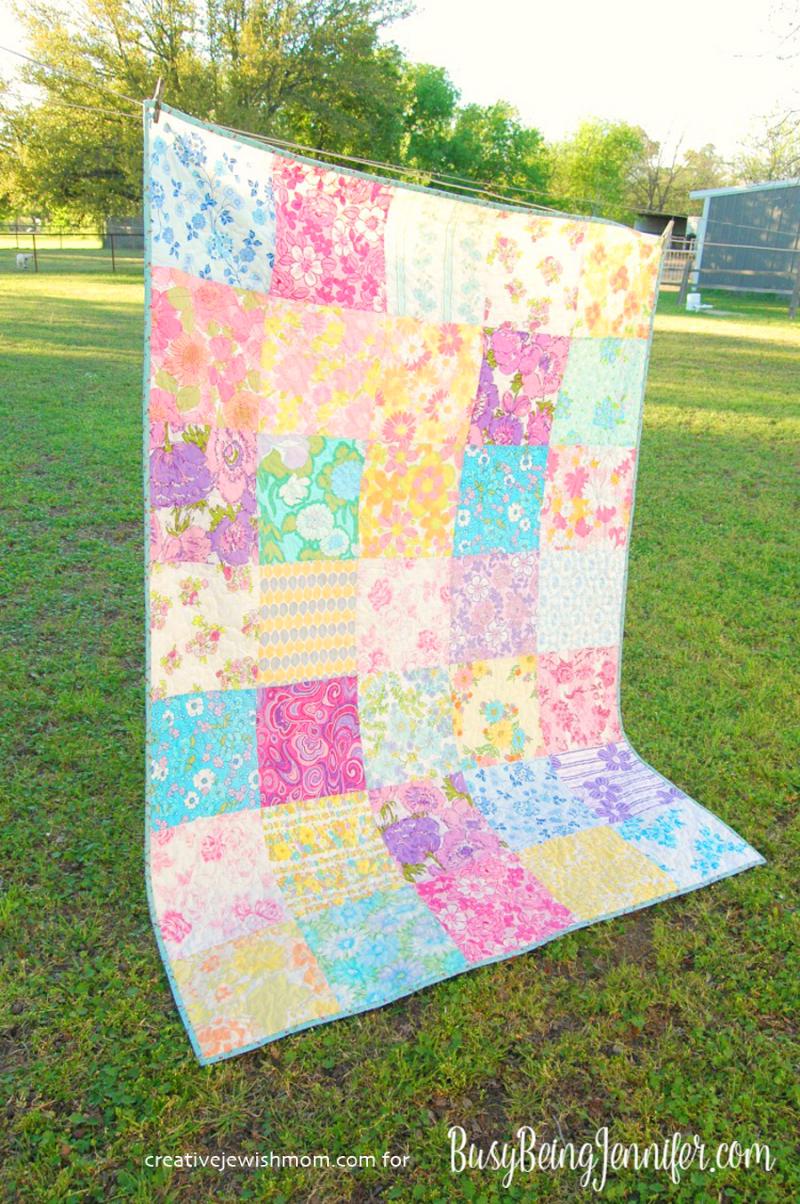 Vintage-sheet-quilt