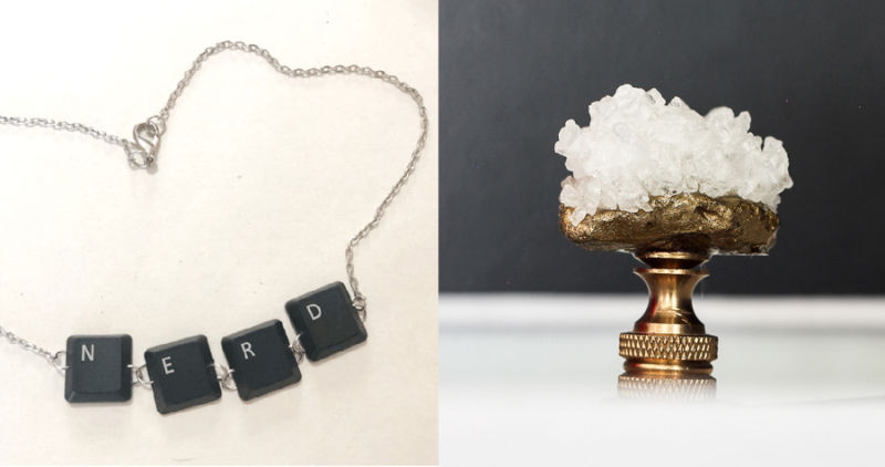 Computer-keyboard-necklace how-to-make-a-crystal-lamp-finial