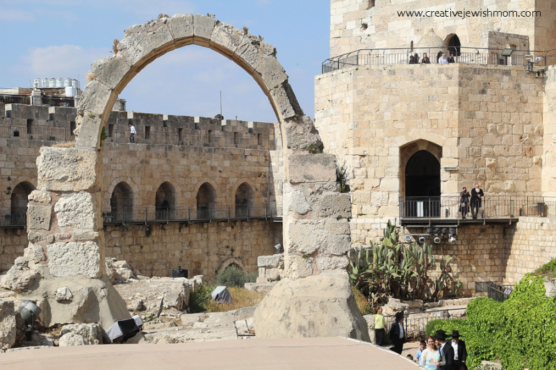 Tower of David Museum Arch