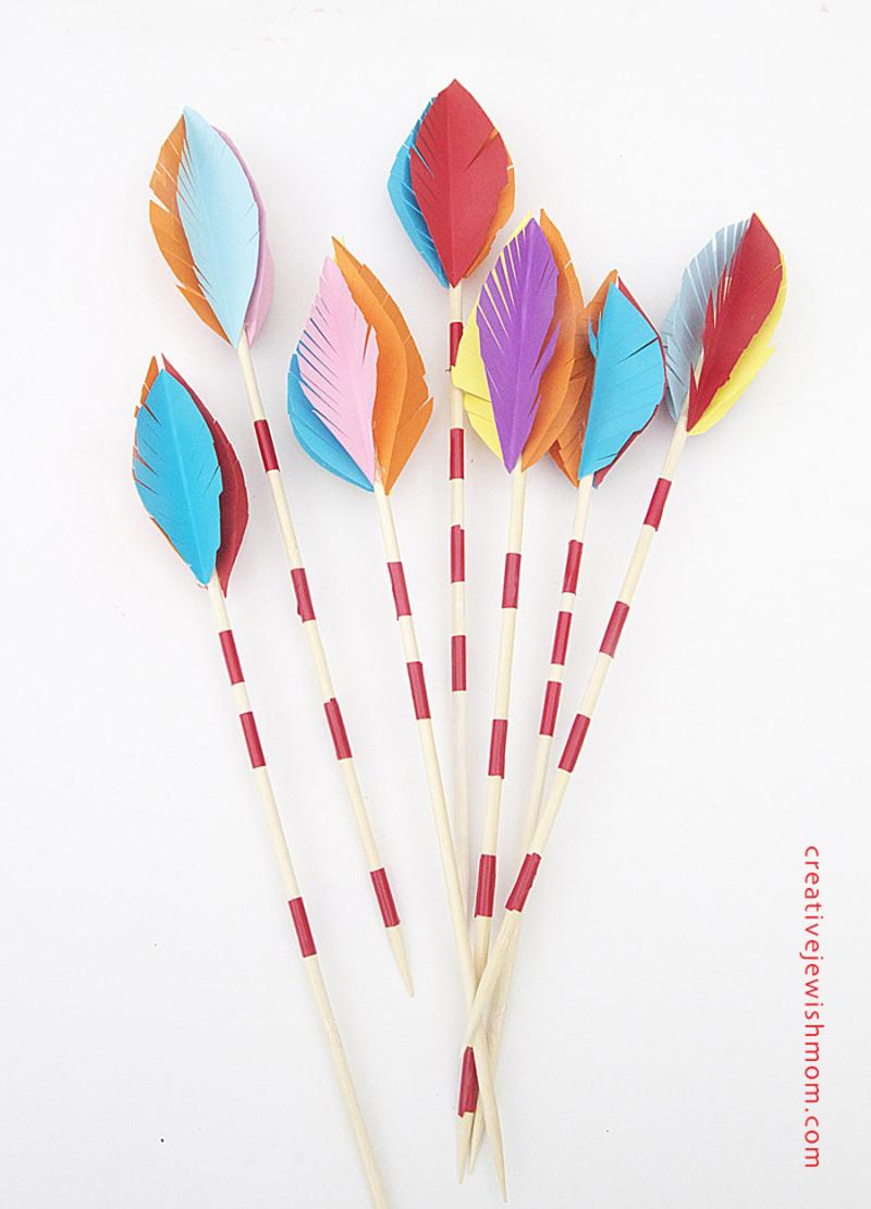 DIY-Paper-Arrows-Craft