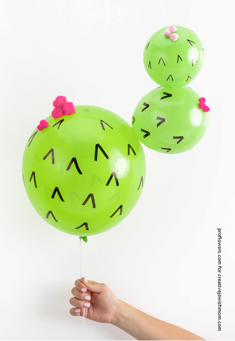 DIY-Cactus-Balloon-simple