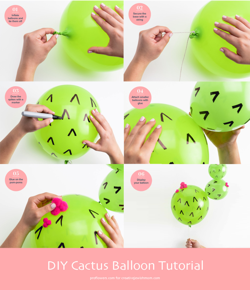 Diy-cactus-balloon-tutorial