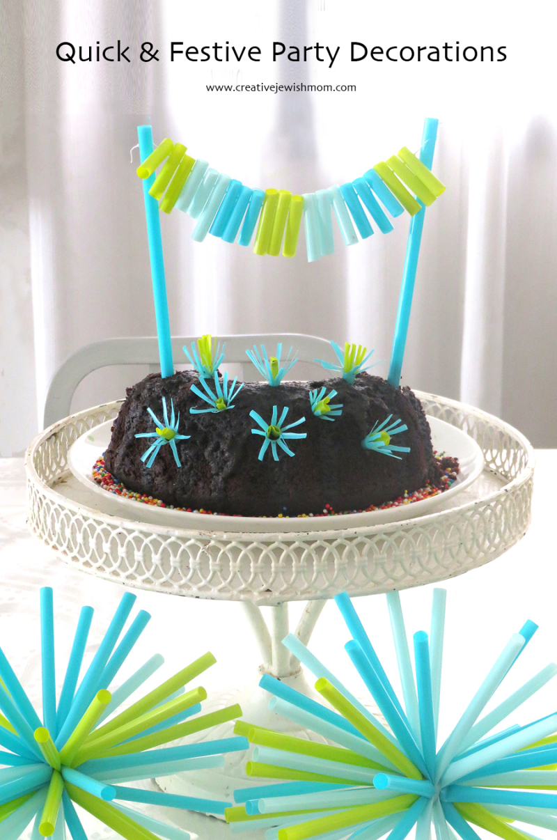 Party-decorations-with-straws