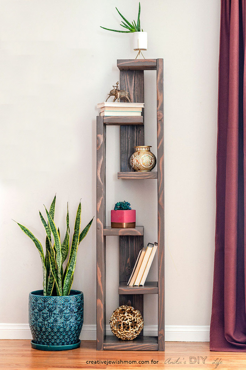 DIY-Modern-bookshelf