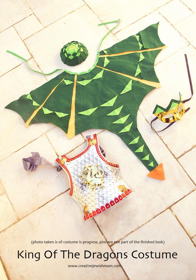 Dragon costume parts