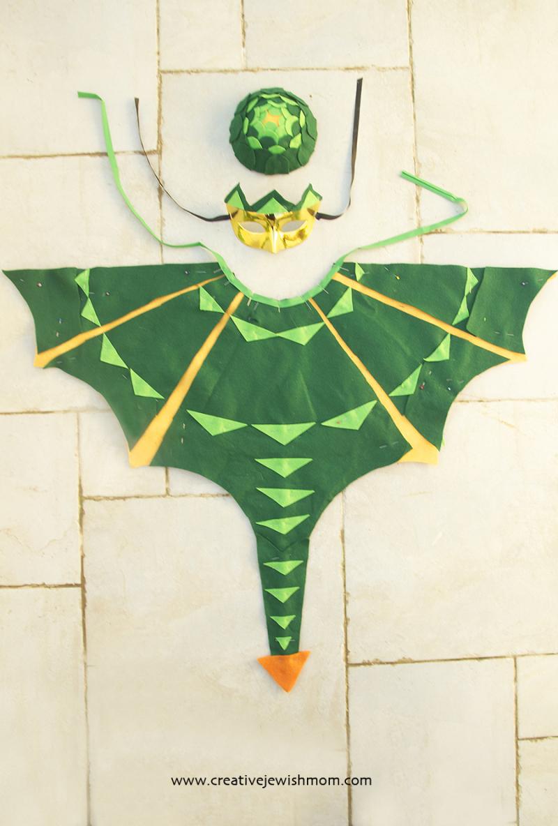 No-sew-dragon-wings-cape