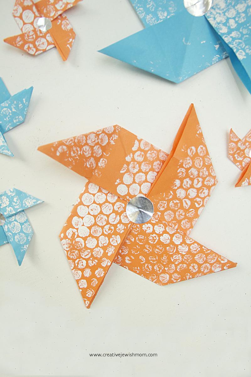 Paper-pinwheel-craft